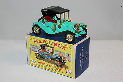 MATCHBOX Y-14 1911 MAXWELL ROADSTER Boxed