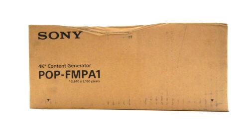 Sony POP-FMPA1 4K Content Generator Player 3840x2160 Resolution