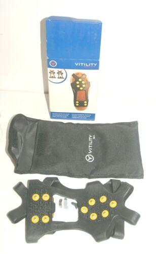 Vitility Schuhüberzug Ice Cover Spikes Glatt Eis /& Schnee NEU 36 37 38 39 40 41