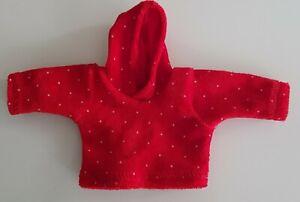 Small-Hoodie-Hoody-For-Approx-7-1-8-8-11-16in-Bear-Handarbeit-Nicki-Fabric