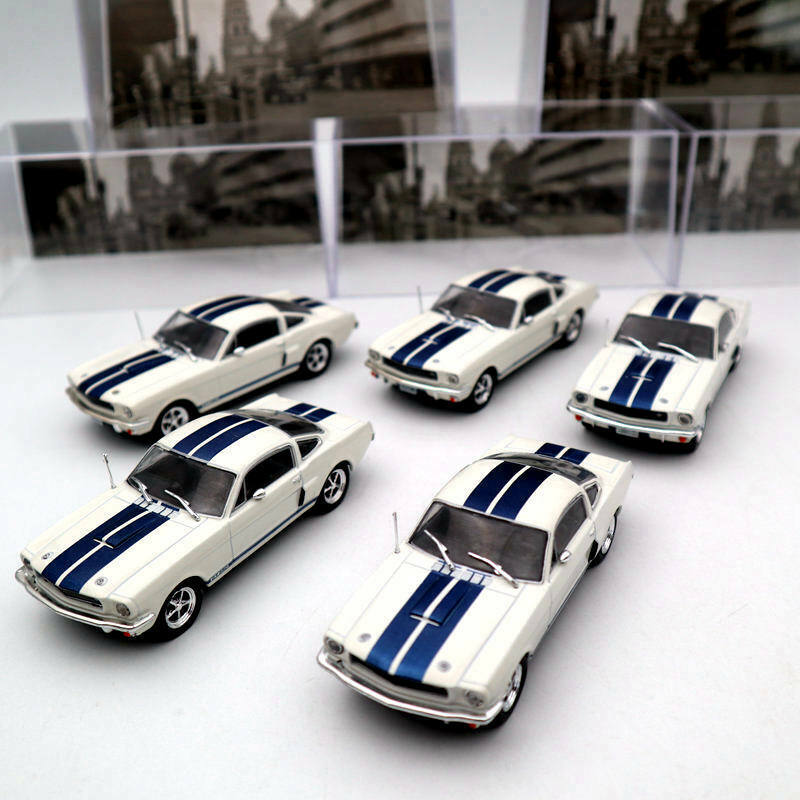 5PCS OF IXO 1 43 Ford Mustang Shelby GT 350H 1965 Diecast Toys Car Models