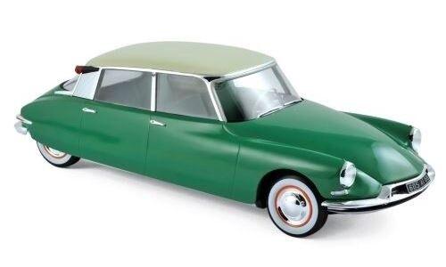 Citroen DS19 1959 green printemps & champagne 1 18 Norev