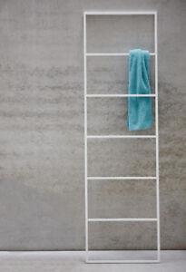 Das Bild Wird Geladen Jan Kurtz Handtuchleiter Handtuchhalter Leiter Hip Metall Weiss