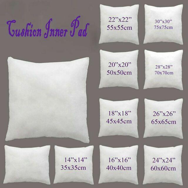 Chair Pads Hollow-fiber Cushion Filling Pillow Core Pillowcase Cushion Inserts