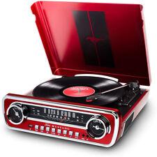 Ion Audio Mustang LP 4-в - 1 классического автомобильного стилей Music центр (mustanglpred)