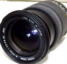 Sigma AF 18-125mm f3.5-5.6 DC Lens 4/3 Mount Evolt Olympus E500 E620 Four Thirds