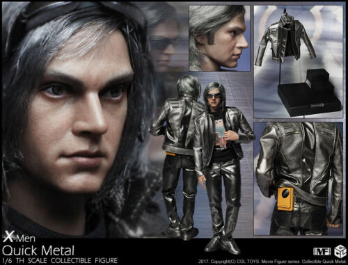 In-Stock 1//6 Scale CGL Toys MF09 Quicksilver Apocalypse Peter Maximoff Mutant