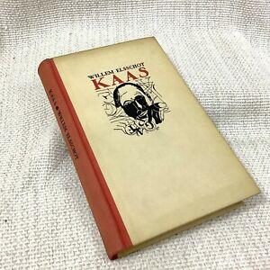 1942 Vintage Dutch Libro Kaas Elsschot Willem Fiammingo Novel Letteratura Old