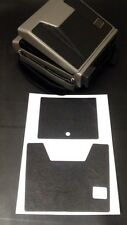 Polaroid Spectra PolaSkinz Black Italian Lambskin Leather SX-70/SLR680