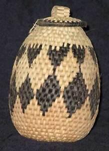 Genuine-Black-Diamond-African-Zulu-Herb-Storage-Basket