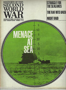 PURNELL-039-S-HISTORY-OF-THE-SECOND-WORLD-WAR-MENACE-AT-SEA-VOLUME-1-No-14