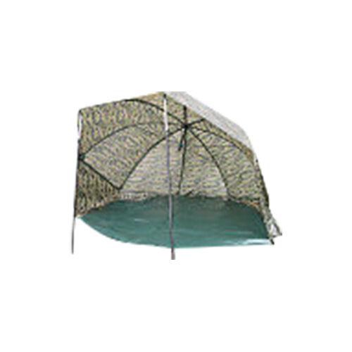 Camouflage Ovale Abri Complet avec Drap de Sol & Bâtons