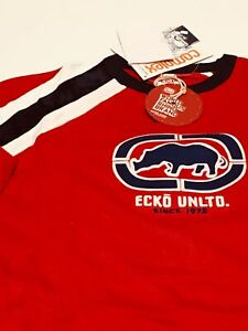 ECKO-UNLTD-S-S-034-Hi-Rev-034-Knit-Shirt-sz-L-Large-Men-039-s-Graphic-T-Tee-OOP-NEW-NWT