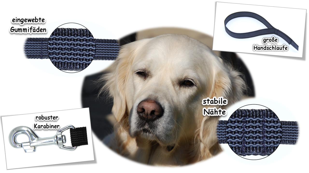 Schleppleine gummiert mit Handschlaufe für für für große Hunde B 20mm 1 - 30 Meter    Online Store  b080d9