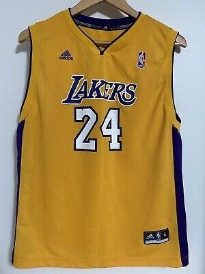 Vintage Adidas KOBE BRYANT #24 Los Angeles LA Lakers Jersey Size ...