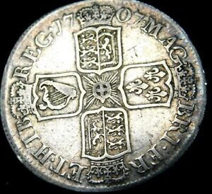 Great-Britain-Half-Crown-1707-Queen-Anne-Great-Details-for-the-Age-A46-652