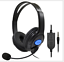 Wired-Game-Gaming-Headset-Headphones-with-Microphone-for-PS4-PC-Laptop Indexbild 4