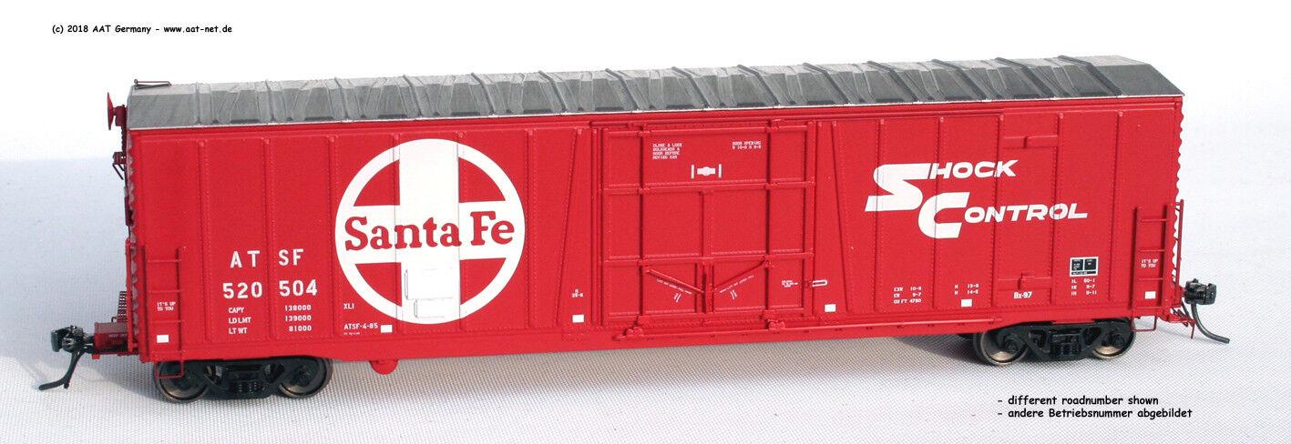 Moloco h0 22002-05 - 50' Reefer Boxcar Santa Fe