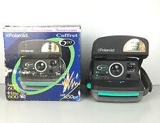 Polaroid 600 (Testé) / Appareil Photo Gris et Vert + Boite + Notice (film 600)