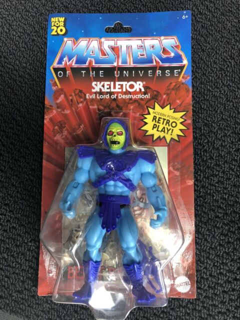 New 2020 Masters of the Universe Origins Skeletor MOC!