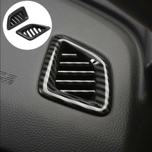 2018 For Honda Accord Carbon Fiber style Dashboard Air Vent Outlet Cover