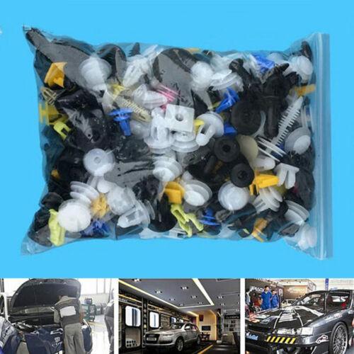 200pcs Car Body Push Retainer Pin Rivet Trim Clip Panel Moulding Assortments Kit