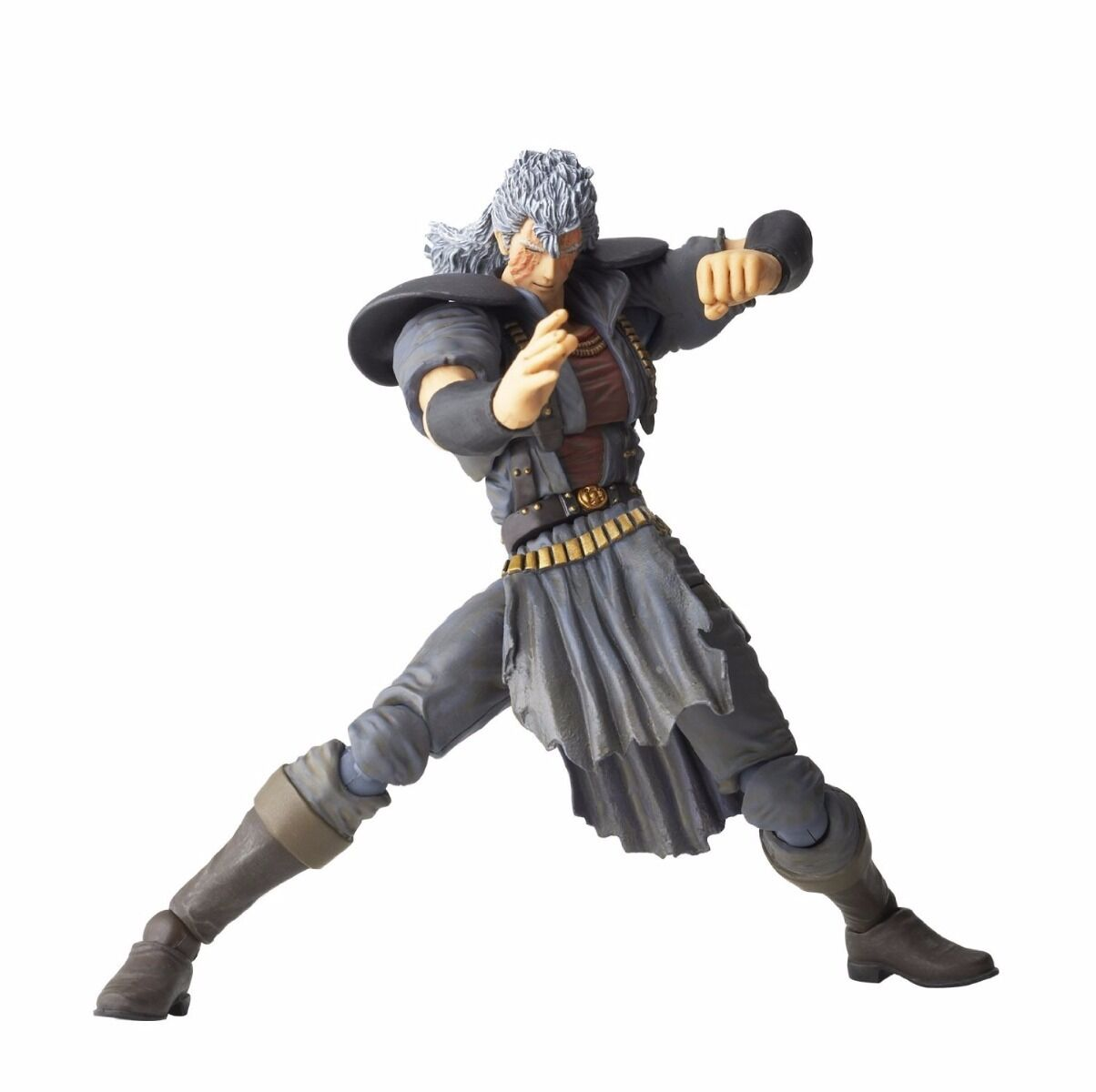 Legacy Of Revoltech Lr-033 Fist Of The North Stern Shu Figur Kaiyodo Neu Japan