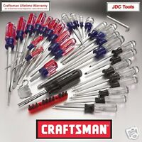 Craftsman 41 Pc Screwdriver Set Torx Phillips Slotted 31798 Usa