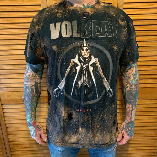Hand Distressed VOLBEAT MMXVI Band Shirt Unisex