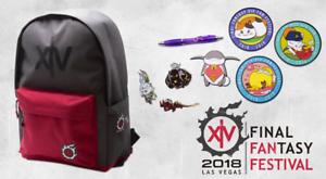 Details about Final Fantasy XIV 14 Fan Fest Las Vegas 2018 Goodie Bag  Festival ffxiv ff 18 Rio