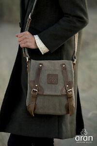 Aran Woollen Mills Double Buckle Bag