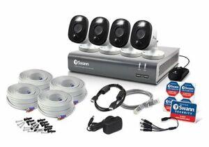 Swann 4580 8 Channel 1TB DVR 4 x 1080MSFB 1080p Flash Motion Camera CCTV Kit
