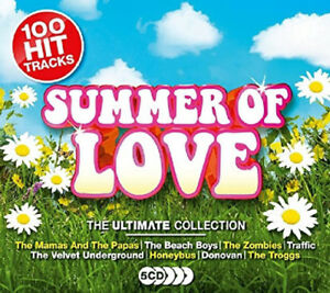 Various-Artists-Summer-of-Love-The-Ultimate-Collection-CD-Box-Set-5-discs