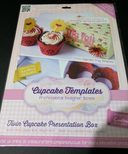 Crafter/'s Companion Cupcake Templates Professional Designer boxes