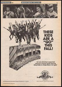 KIDS-INCORPORATED-Original-1984-Trade-print-AD-TV-series-promo-MARTIKA-FERGIE
