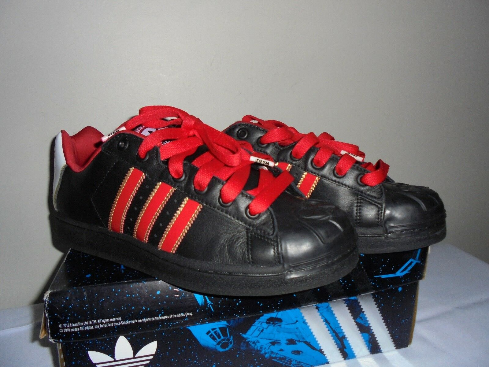 Star wars adidas ultrastar p.l. 8 dart fener usa 8 p.l. scarpe scarpe da ginnastica new w box fcea02