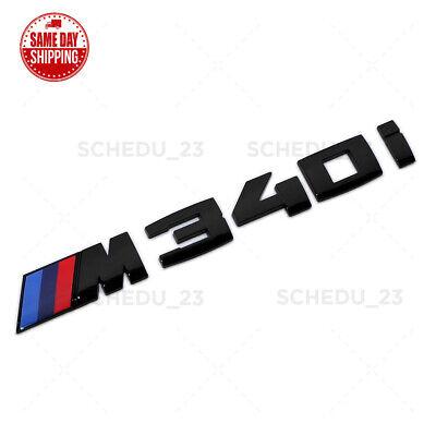 Genuine Gloss Black BMW 328d Logo Emblem Trunk Lid OEM M Series Performance F30