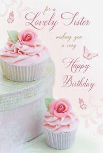 Astonishing Lovely Sister Cup Cakes Design Luxury Happy Birthday Card Lovely Funny Birthday Cards Online Ioscodamsfinfo