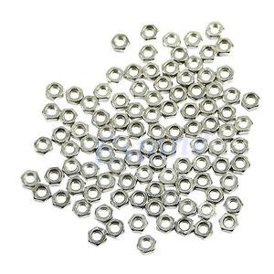 100pcs-M3-Dia-3mm-Hex-Screw-Nut-Carbon-Steel-Nuts-Good-High-Quality-DIY-New