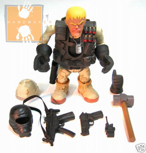 Original Licensed Special Forces 7.5 inch Vinyl Figure