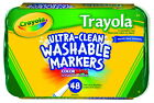 Crayola Trayola Washable Markers Fine Tip Assorted Colors 48pk