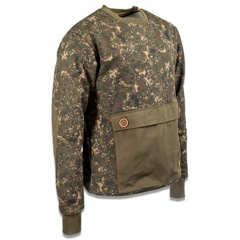 Nash zt camouflage heavyweight chandail voiturep fishing clothes
