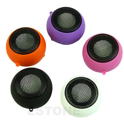 Mini Portable USB 3.5mm Hamburger Rechargeable Speaker For iPhone iPod Laptop