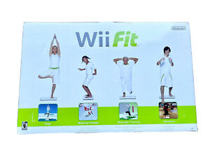 Nintendo Wii Fit Balance Board With Box / Manual / Extra Stands RVL-021 White