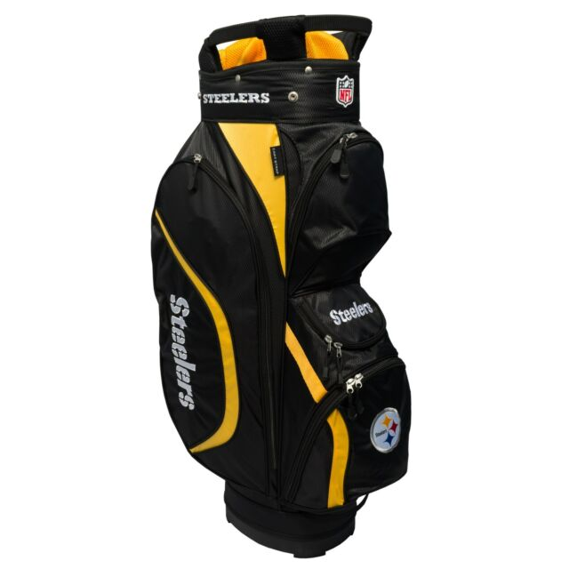 Brand New Team Golf Nfl Pittsburgh Steelers Clubhouse Cart Bag