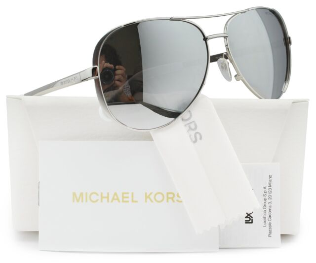 32f0d80a567f Cycling Michael Kors Mk5004 Chelsea Polarized Sunglasses Silver wSilver  Mirror. +. $84.99Brand New. Free Shipping