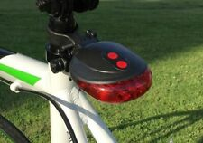 Road Bicycle LED Light Taillight 2 Lasers Safety Lights Bike Rear Lamp Backlight