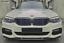 GLOSS BLACK FRONT SPLITTER SPOILER FOR BMW 5 SERIES G30 G31 M SPORT LIP 2017+