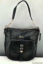 FREE Ship USA Handbag GUESS Tremont Shoulder Bag Black Ladies Chic Stylish