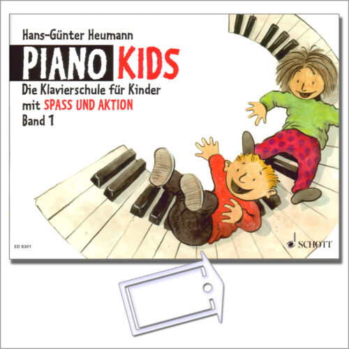 Piano Kids 1 Klavierschule für Kinder NotenKlammer ED8301-9783795751623